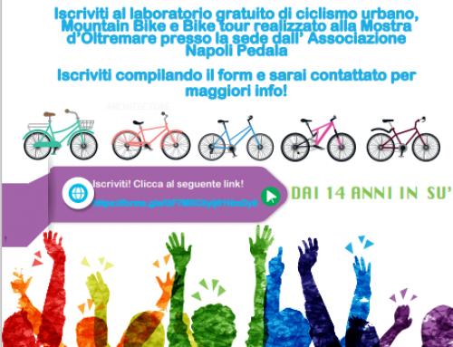 """Al via il progetto """"Curre Curre Guagliò"""" con la SCUN – Scuola ciclisti urbani Napoli"""